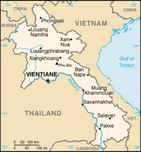 laos-map